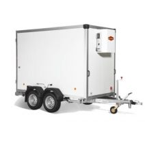 Rental refrigerated trailers