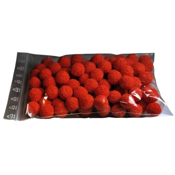 Sponge balls for line cleaning