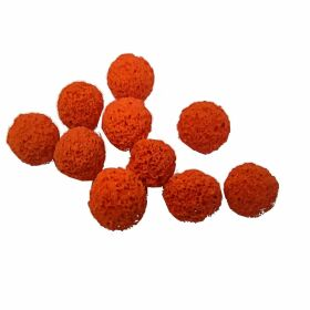 Sponge balls for line cleaning 10x5mm Sponge Balls (4mm Line)